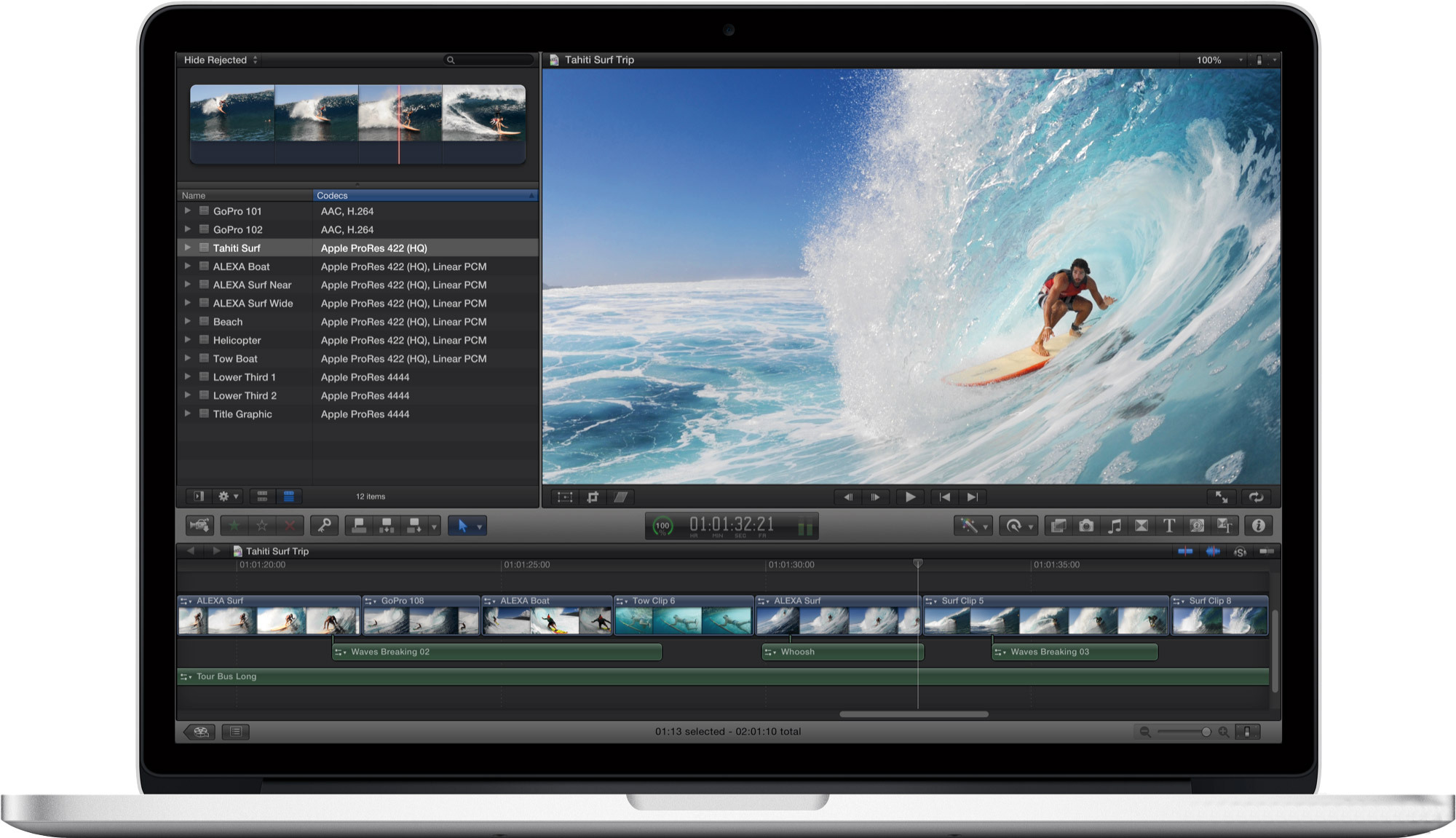 Обзор ноутбука Apple MacBook Pro 13 Retina
