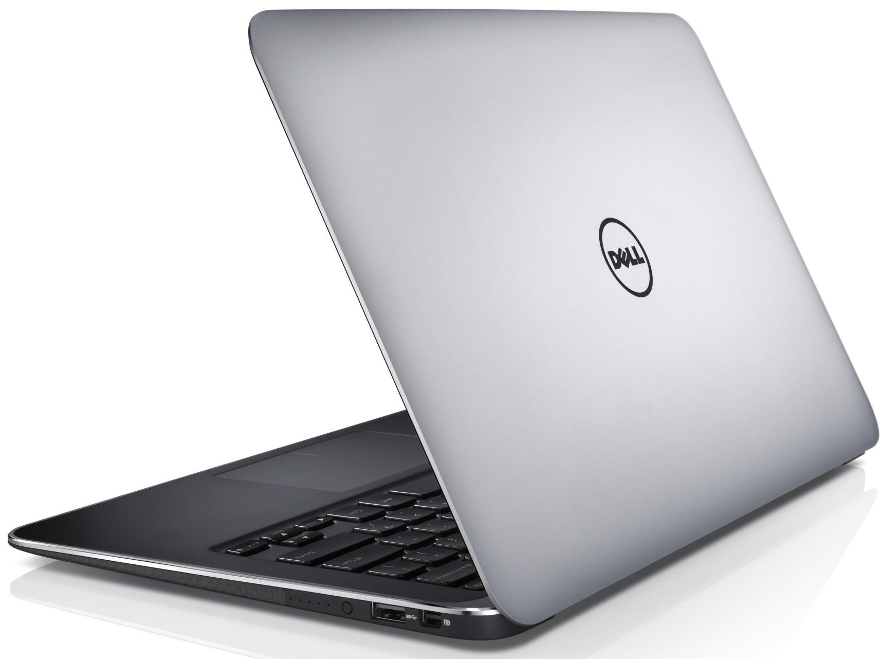Ноутбук Dell XPS13 вид сбоку