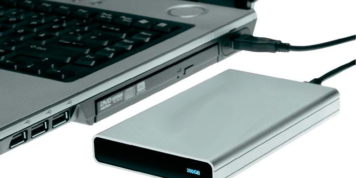 ноутбук не видит внешний жесткий диск