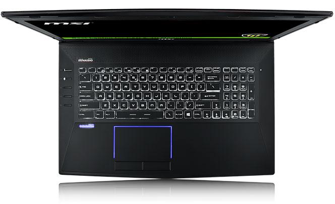 клавиатура ноутбука MSI WT72 6QI