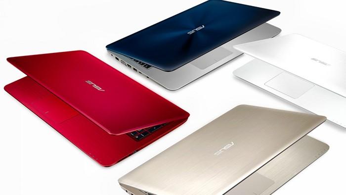 расцветки ноутбука Asus X556UB