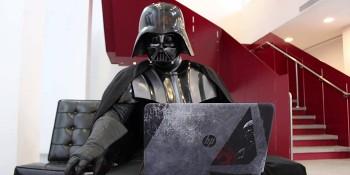 Дарт Вейдер тестирует ноутбук HP Star Wars Special Edition
