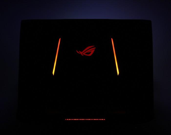 подсветка ноутбука ASUS ROG G752
