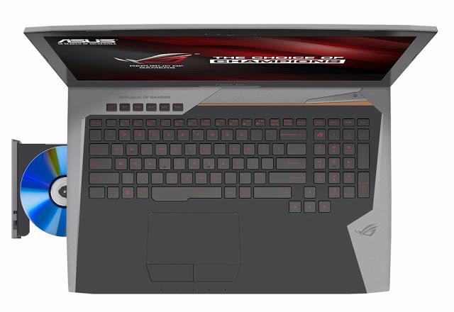 клавиатура ноутбука ASUS ROG G752