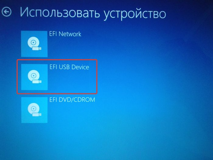 EFI USB Device