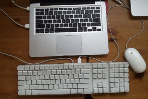 подключение внешней клавиатуры