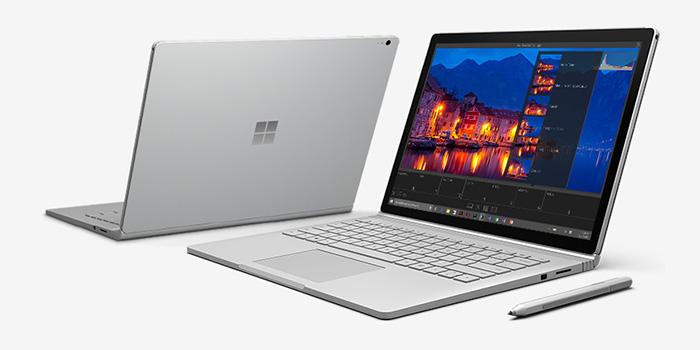 Компания Microsoft отложила выпуск Surface Book второго поколения