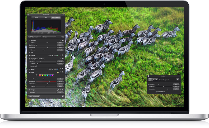 ноутбук Apple MacBook Pro Retina displ