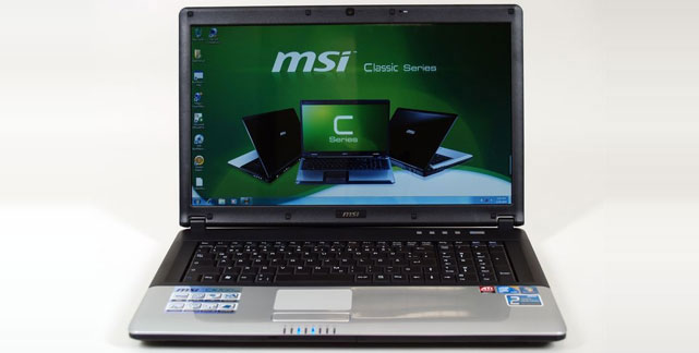 новый ноутбук MSI CX70 0NC