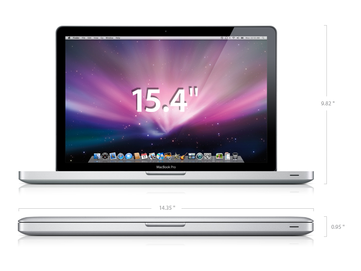 Apple Macbook Pro 15,4 фото