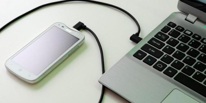 ноутбук не видит телефон через usb