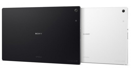 цветовые решения планшета Sony Xperia Tablet Z2