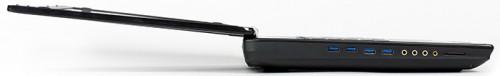 крышка ноутбука MSI GT72S 6QE Dominator Pro G открывается на 180 градусов