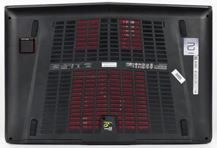 днище ноутбука MSI GT72S 6QE Dominator Pro G