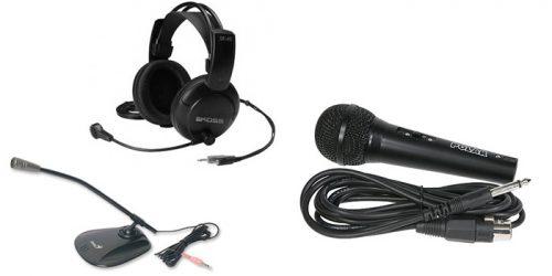 Как подключить микрофон к ноутбуку