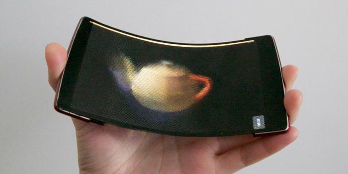 HoloFlex – первый смартфон с гибким корпусом и стереоскопическим изображением