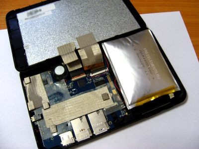 Аккумулятор планшета